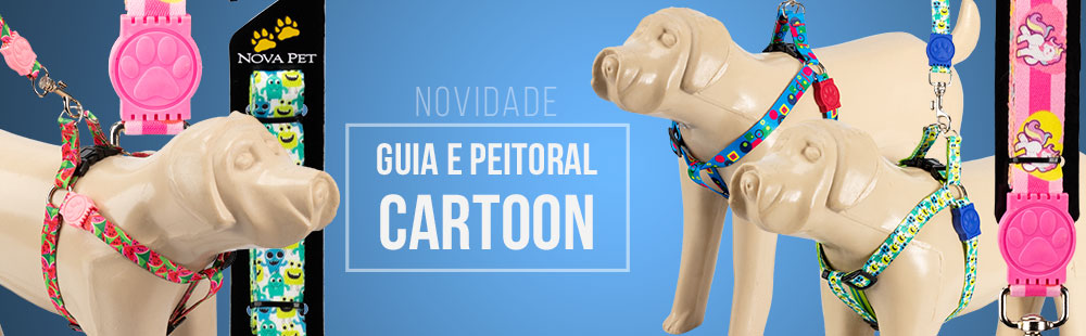 Guia e Peitoral Cartoon